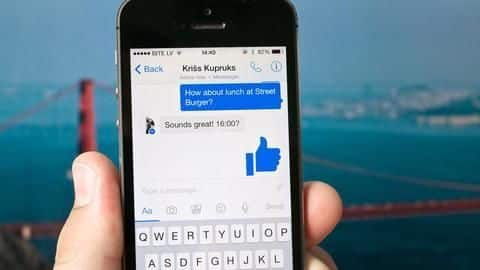 Facebook testing 'Unsend&#039 button for Messenger