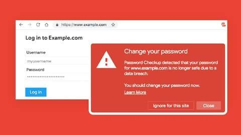 Chrome warns if your password has been leaked: Here's how