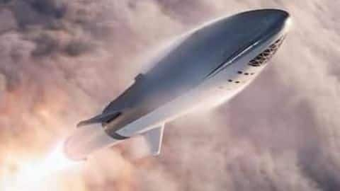Elon Musk reveals assembled Starship test rocket
