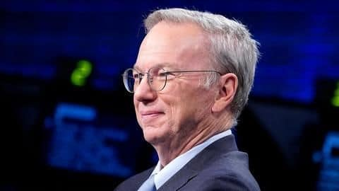 Ex-Google CEO is creating a 'tech school' for US government