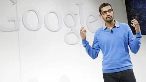 Sundar Pichai says Google still mulling a censored search engine in China