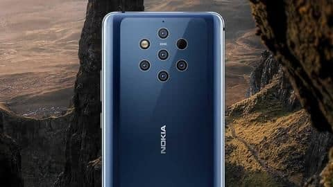 Nokia 9 PureView in-screen fingerprint scanner tricked by chewing gum packet