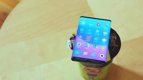 Xiaomi's 'dual-fold' smartphone seen in action, folds seamlessly