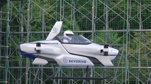 Japan's 'flying car' successfully completes first public flight