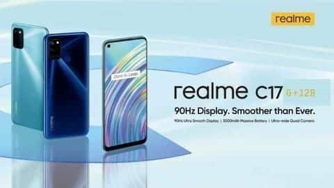 Realme C17 to be launched on September 21