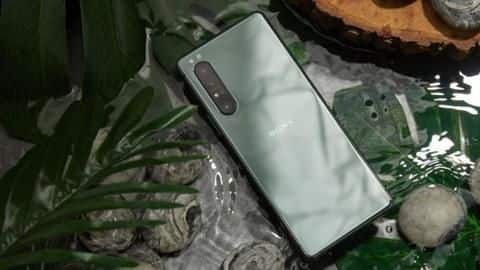 Sony Xperia 1 II's Mirror Lake Green color option unveiled