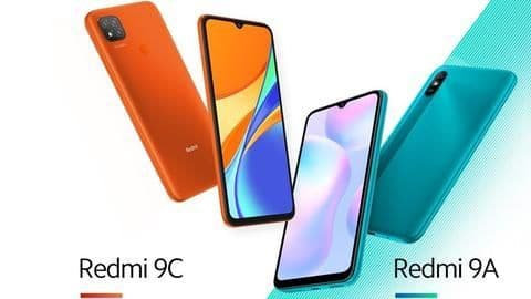 Redmi 9A and 9C, with new MediaTek G-series chipsets, launched