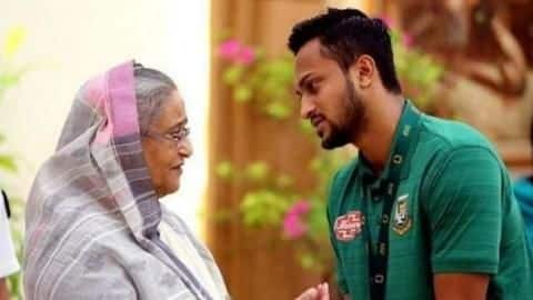 Here's why Sheikh Hasina has lent support to Shakib