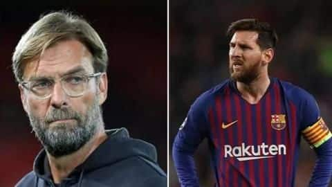 Jurgen Klopp feels threatened with Lionel Messi: Here's why