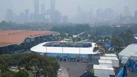 Players forced to halt Australian Open practice session: Here's why