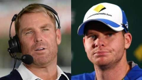 Ashes: Here's what Shane Warne has warned Steve Smith about