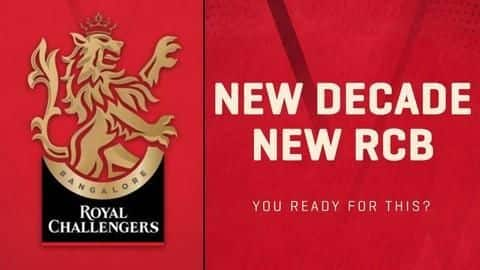 Royal Challengers Bangalore launch new logo ahead of IPL 2020