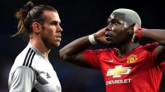Manchester United eye Gareth Bale for Paul Pogba