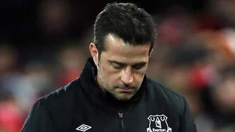 Everton part ways with Marco Silva after 18 months