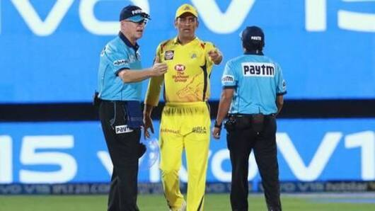 IPL12: Dhoni loses cool in match against RR