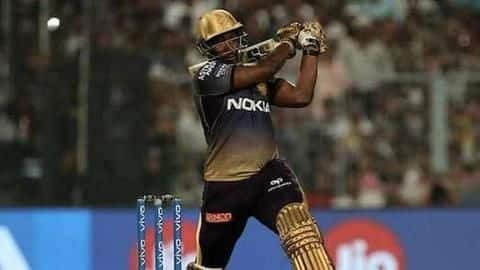 Should Andre Russell bat higher up the order for KKR?