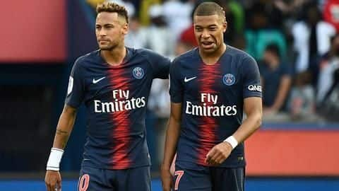 Here's what Mbappe said about Neymar's transfer rumors