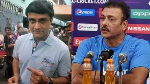 Here's what Sourav Ganguly has warned Ravi Shastri about