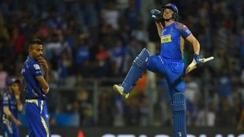 IPL 2019: Rajasthan Royals beat Mumbai Indians by four wickets