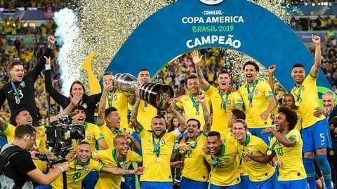 Brazil drub Peru 3-1 to clinch ninth Copa America title