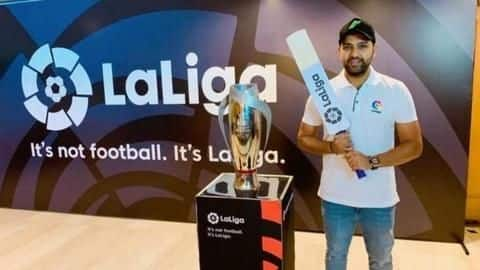 Rohit Sharma named La Liga's first India brand ambassador