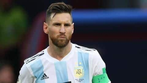 Lionel Messi to resume international career for Argentina this month