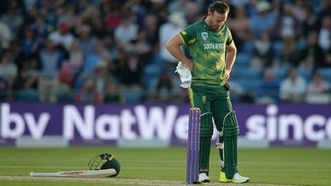 It was too late to include AB de Villiers: Faf