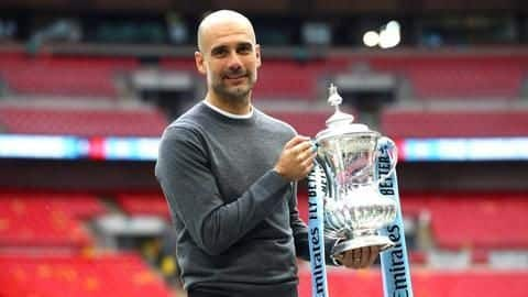 This is what Guardiola said post City's FA Cup triumph