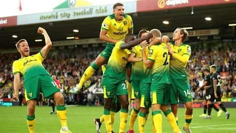 EPL: Norwich City produce brilliance to stun Manchester City 3-2