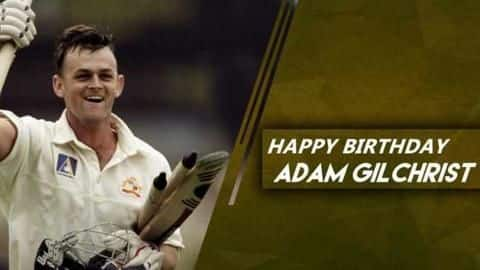 Happy Birthday Adam Gilchrist: Some records held by the legend