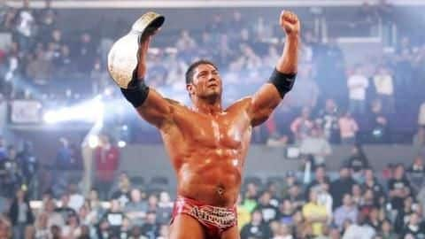 Check out the greatest rivals Batista ever feud with