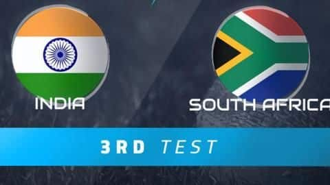 Match preview for 3rd Test between India and South Africa