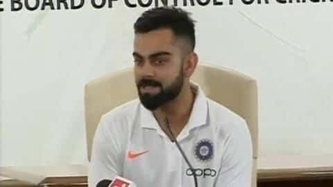 Here's what Virat Kohli said prior to World Cup departure