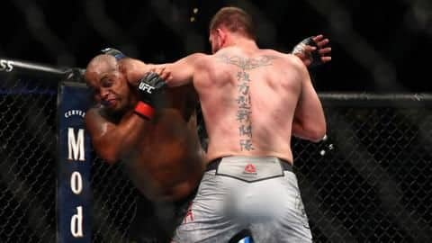 List of some unique records scripted in UFC