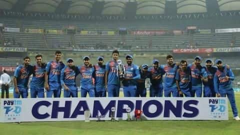 Statistical review of Team India in T20Is this year