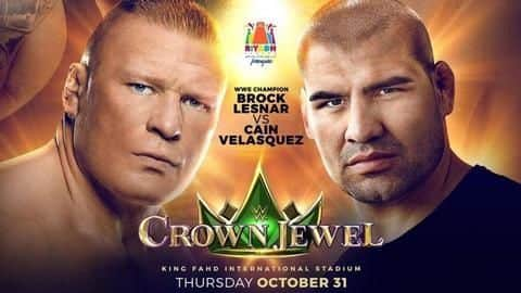 WWE: Lesnar would beat Velasquez at Crown Jewel- Here's why