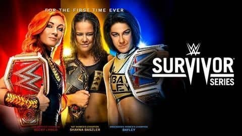 WWE: Preview and last-minute predictions for Survivor Series 2019
