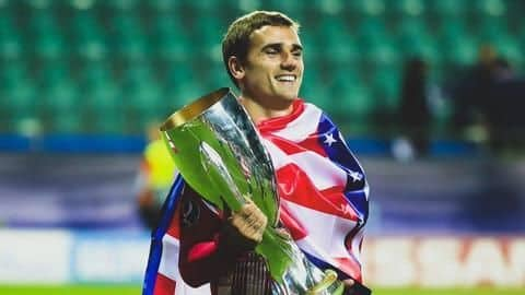 Atletico seek FIFA's help over Griezmann's fee paid by Barcelona
