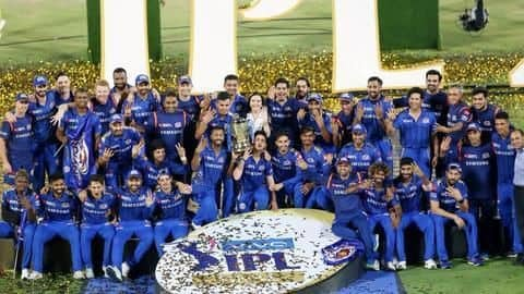 The complete list of winners of Indian Premier League 2019
