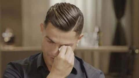 Cristiano Ronaldo was in tears during an interview: Here's why