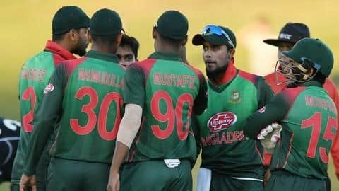 Bangladesh announce 15-man World Cup squad