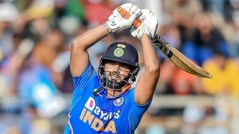 Rishabh Pant unlikely to feature in second ODI following concussion