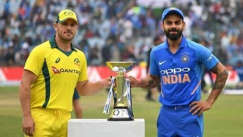 Can India draw first blood against Australia in opening ODI?