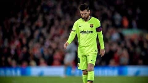 Lionel Messi's night at Anfield gets worse: Here's how