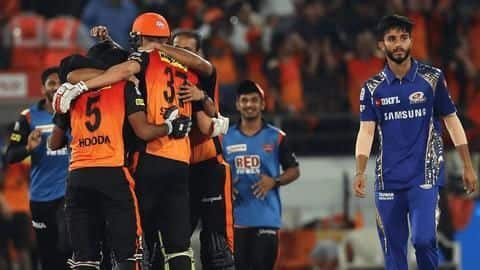 SRH vs MI: Match preview, head-to-head records and pitch report