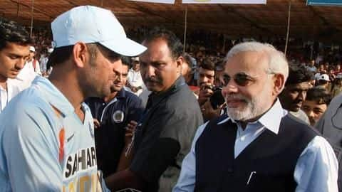 MS Dhoni ranks just next to Narendra Modi: Here's how