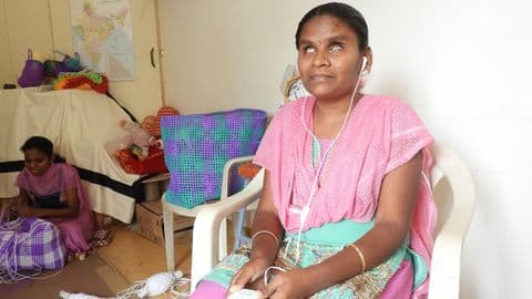 This 23-year-old visually impaired woman has scored 92% in PUC