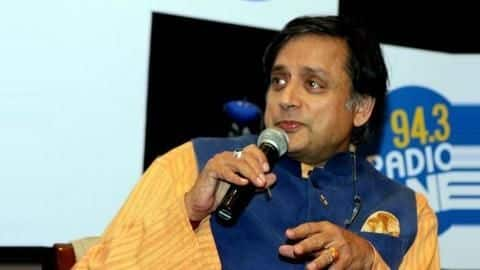 Shashi Tharoor, known for impeccable English, trolled for wrong spelling