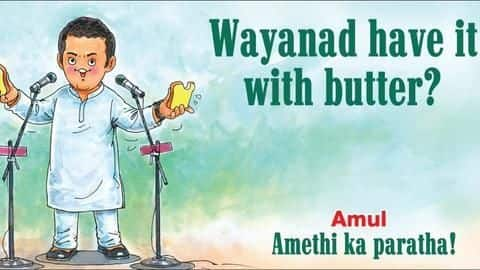Amul's latest comic featuring Rahul Gandhi sets Internet on fire