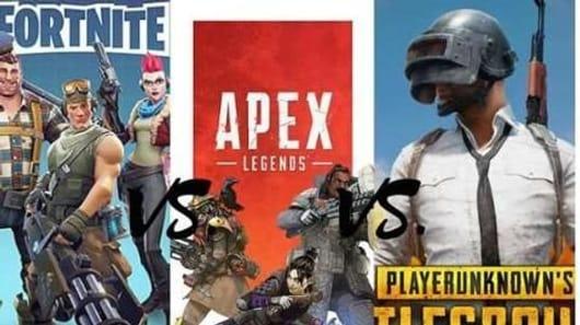PUBG vs Fortnite vs Apex Legends: A comparison